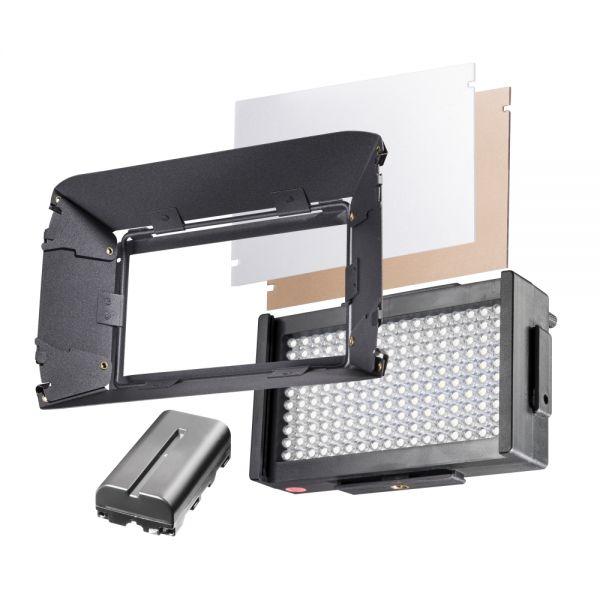 Walimex pro LED Foto Video Square 170 Daylight Set