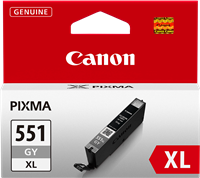 Canon Tintenpatrone Grau CLI-551GY XL 6447B001 11ml