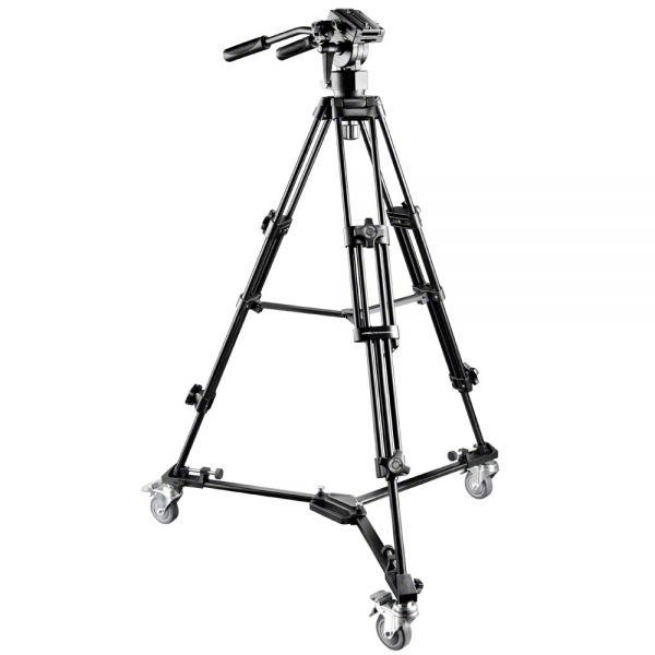 Miglior prezzo walimex pro FT-9901 treppiede-Video-Pro + WT-600 -