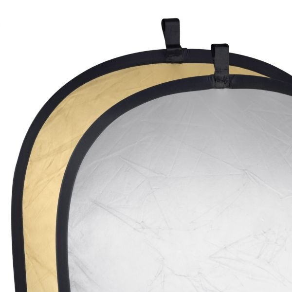 Walimex Faltreflektor gold/silber, 91x122cm
