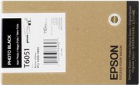 Epson Tintenpatrone schwarz (foto) C13T605100 T6051 110ml