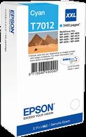 Epson Tintenpatrone cyan C13T70124010 T7012 ~3400 Seiten XXL