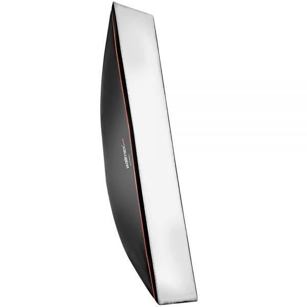 Walimex pro Softbox OL 25x180cm + Univ. Adapter