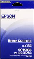 Epson Farbband schwarz C13S015066 S015066 Gewebefarbband, 6 Millionen Zeichen