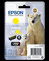 Epson Tintenpatrone gelb C13T26344012 T2634 ~700 Seiten 9.7ml C13T26344010