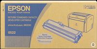 Epson Toner schwarz C13S050522 S050522 ~1800 Seiten inkl. Entwickler