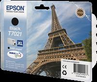 Epson Tintenpatrone schwarz C13T70214010 T7021 ~2400 Seiten XL