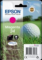 Epson Tintenpatrone Magenta C13T34634010 T3463 ~300 Seiten 4.2ml 34