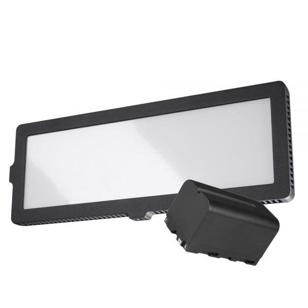 Walimex pro Soft LED 200 Flat Daylight Akku Set