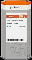 Prindo Tintenpatrone cyan PRIBLC223C LC-223 ~550 Seiten Prindo CLASSIC: DIE Alternative, Top Qualitä
