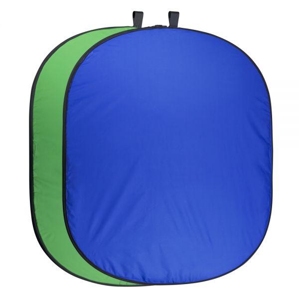Miglior prezzo Foldable Background 150 x 210 blue/green -
