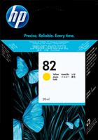 HP Tintenpatrone gelb CH568A 82 28ml
