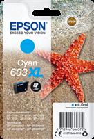Epson Tintenpatrone Cyan C13T03A24010 603XL ~350 Seiten