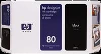 HP Tintenpatrone schwarz C4871A 80 350ml