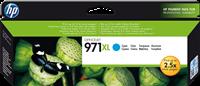 HP Tintenpatrone cyan CN626AE 971 XL ~6600 Seiten