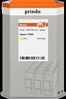Prindo Tintenpatrone Gelb PRIET7894 XXL ~4000 Seiten Prindo BASIC: DIE preiswerte Alternative, Top Q