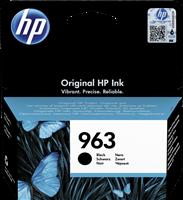 HP Tintenpatrone Schwarz 3JA26AE 963 ~1000 Seiten