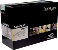 Lexmark Toner Schwarz 64440XW ~32000 Seiten Corporate Toner