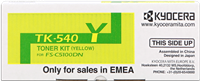 Kyocera Toner gelb TK-540y 1T02HLAEU0 ~4000 Seiten